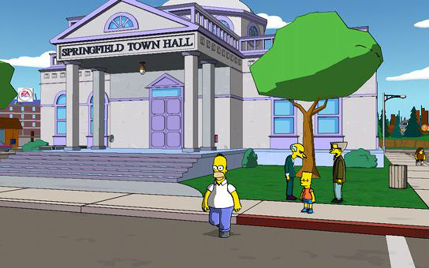 The Simpsons Game Psp Demo Download